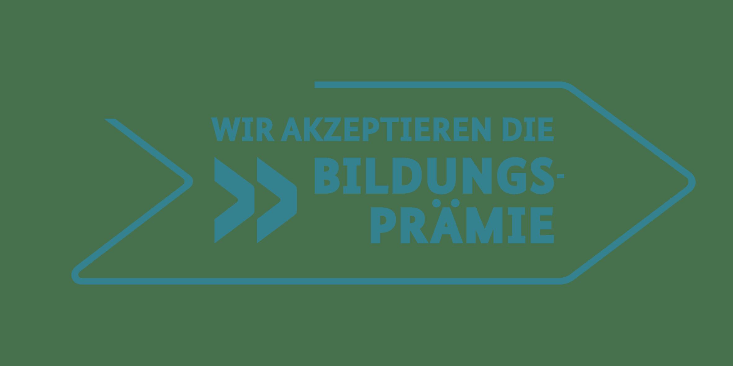 Bildungsprämie Logo